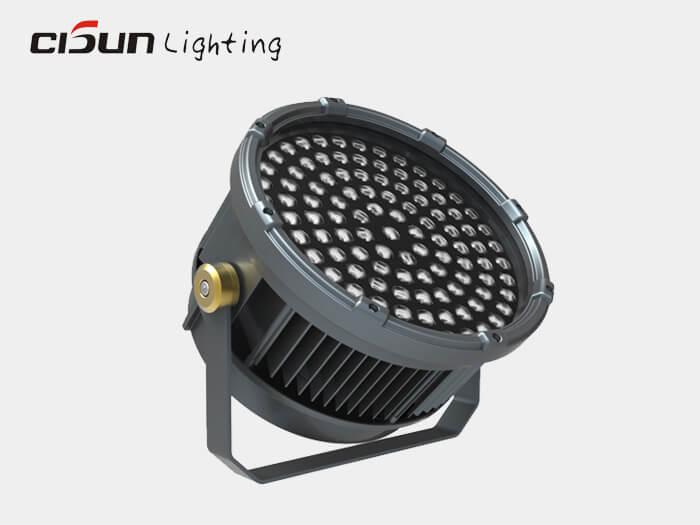exterior led spotlight 216W