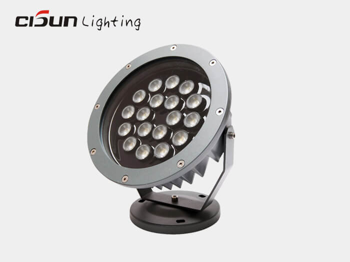 18W spotlight outdoor lighting