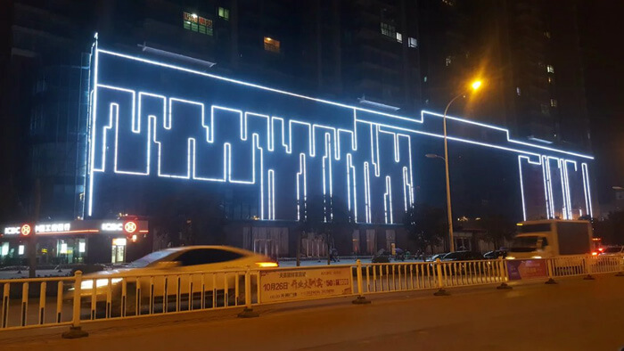 Department Store Exterior Wall Lighting Project