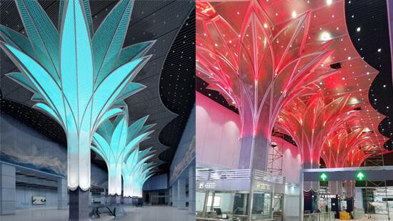 Rgbw led spot lights for Art Tree Flood Lighting