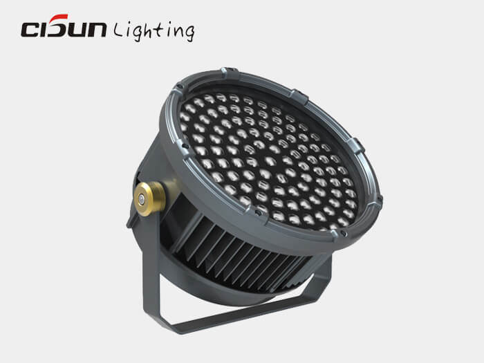 exterior led spotlight 216W