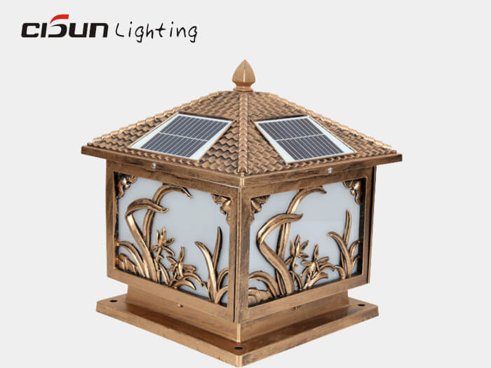 solar powered garden lights