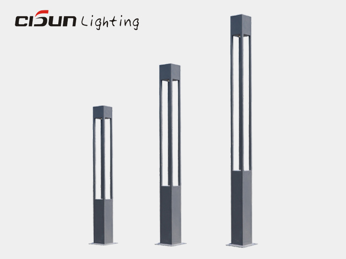 Aluminum landscape light