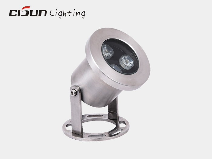 3W underwater pond light