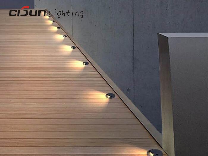 side lighting underground lamp