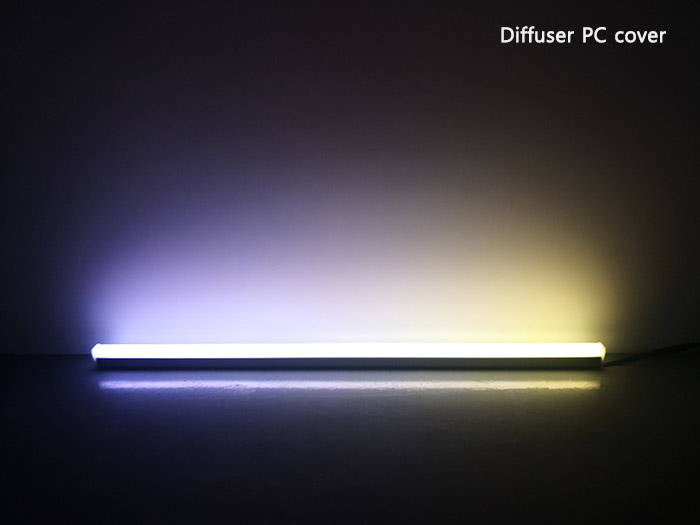 dmx512 rgb led linear light bar
