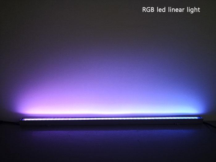 RGB dmx512 led linear light