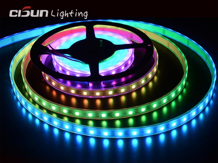 dmx512 rgb led strip lights