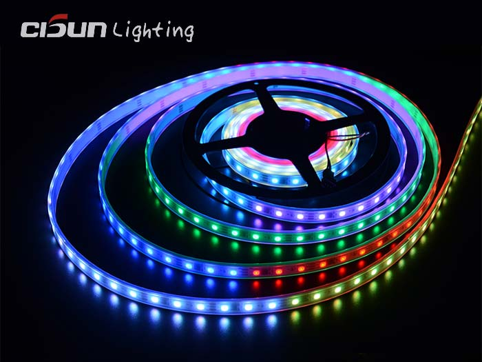 60leds dmx512 strip lights