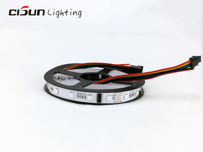 RGB dmx512 led strip lights