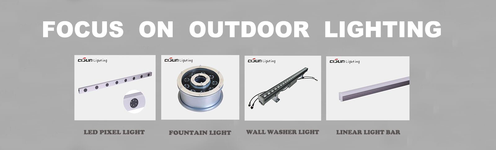 outdoor lights manufacturer